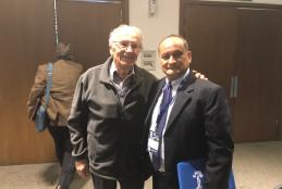 Dr. Lizarraga con el Dr Roberto Masliah Galante